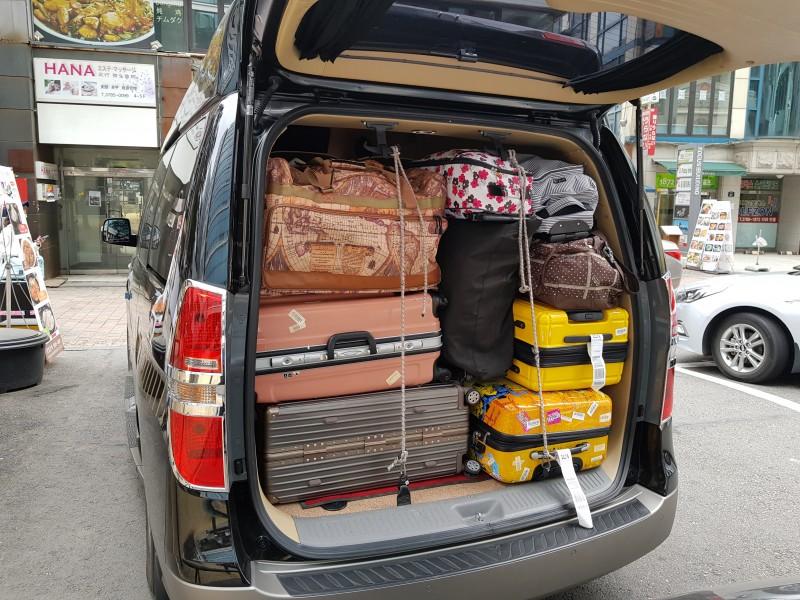 많은 짐을 적재할 수 있는 트렁크 #1