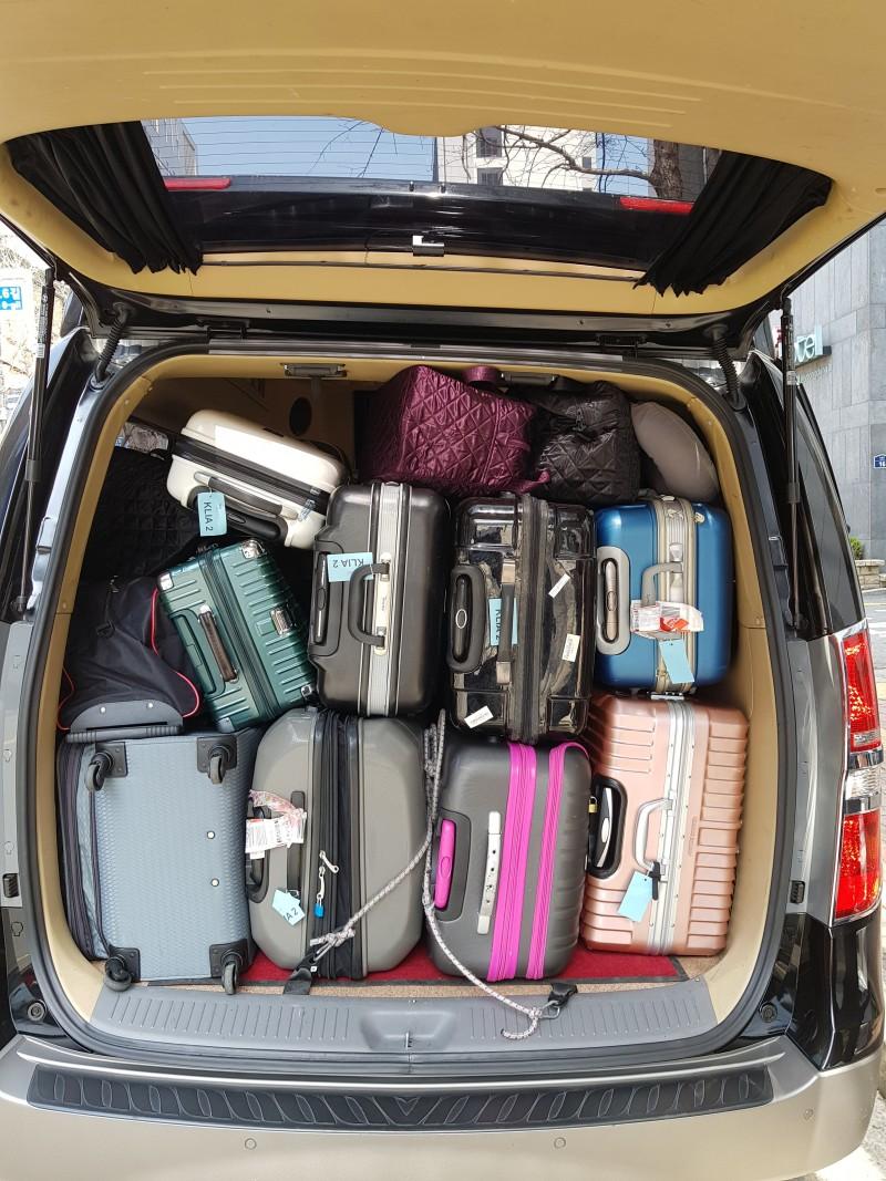 많은 짐을 적재할 수 있는 트렁크#2